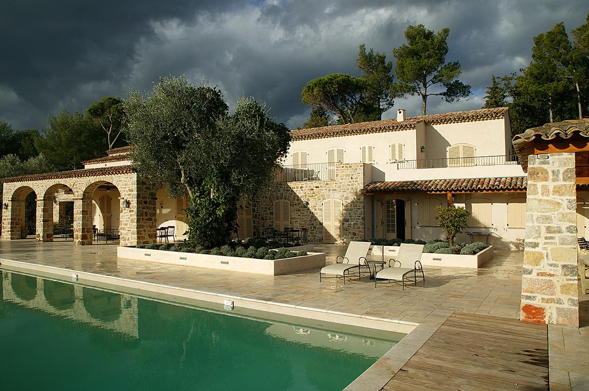 menuiserie extérieur mas provençal
