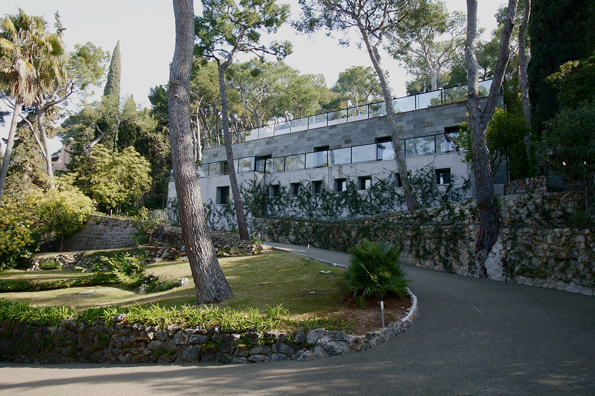 menuiserie villa moderne