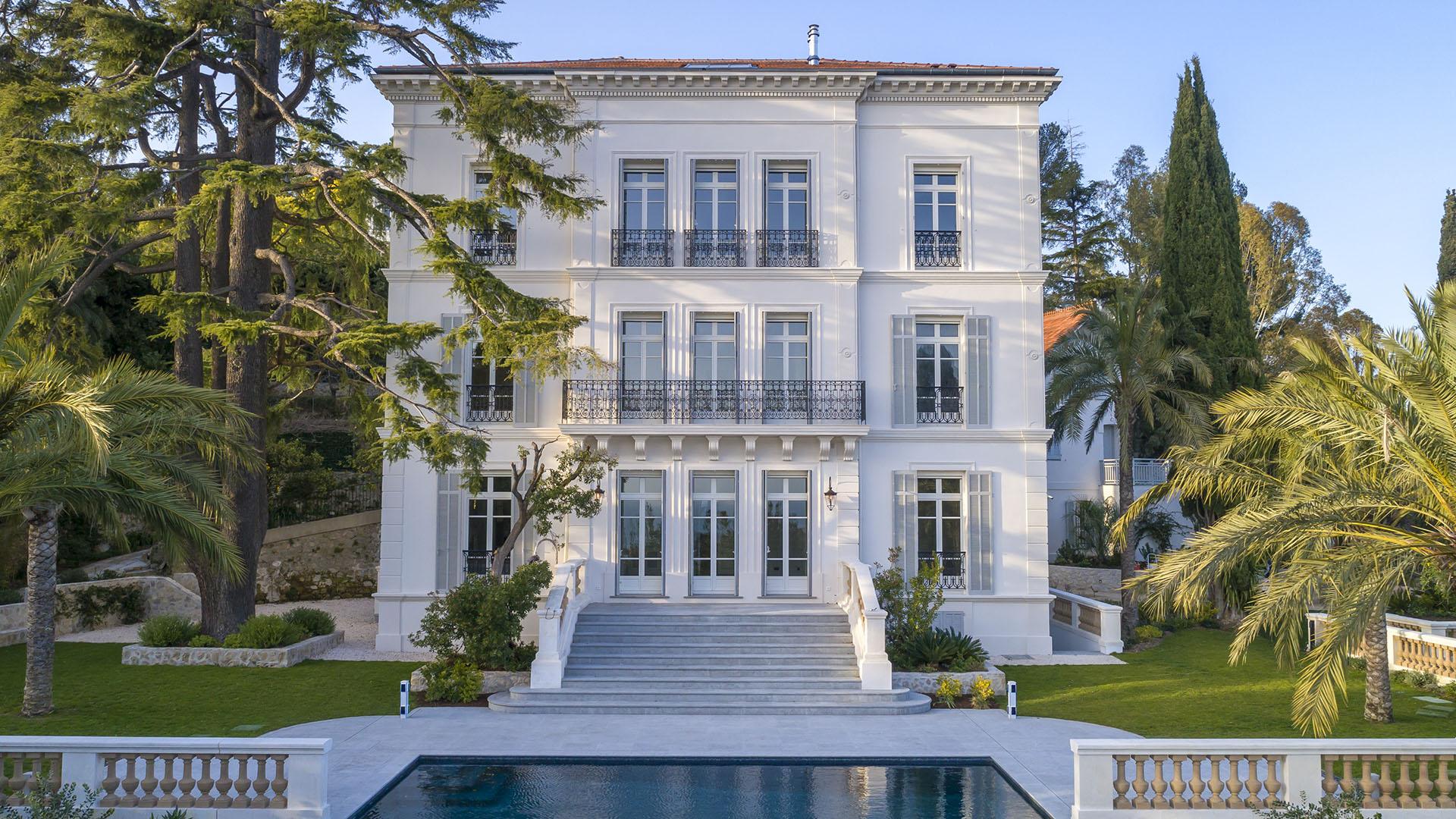 villa cannes menuiserie extérieure